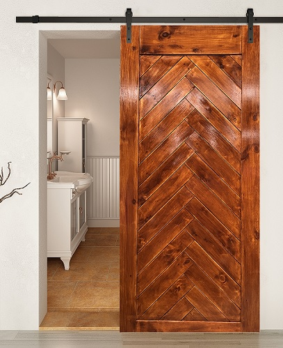 Herringbone Barn Door( BDHB04)